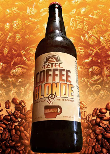 aztec coffee blonde beer
