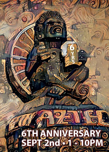 Aztec Brewing Company 6th Anniversary September 2nd